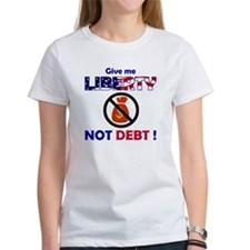 Liberty not Debt Tee