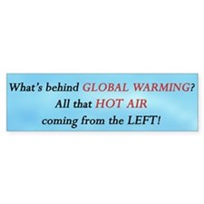 Global Warming - NOT Bumper Sticker