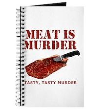 Meat is Murder Tasty Murder Journal