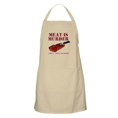 Meat is Murder Tasty Murder Apron