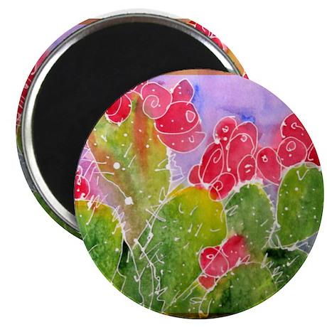 Cactus, southwest art, Magnet