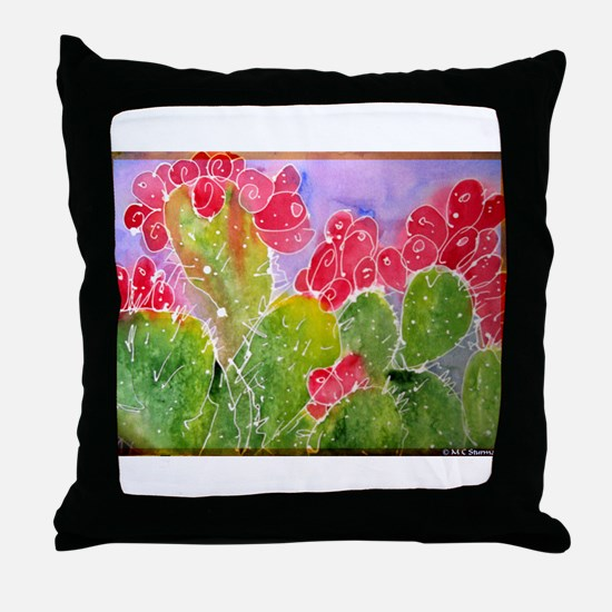 Cactus, southwest art, Throw Pillow