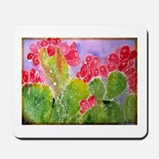 Cactus, southwest art, Mousepad