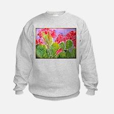 Cactus, southwest art, Sweatshirt