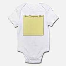 Fingerpainting Infant Bodysuit