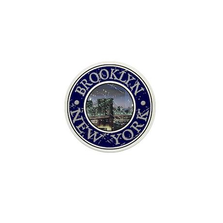Brooklyn, New York Mini Button