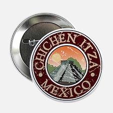 Chichen Itza, Mexico Button