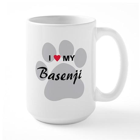Basenji Large Mug