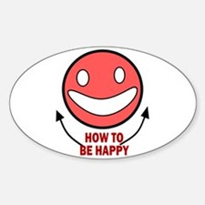 How to be Happy Decal