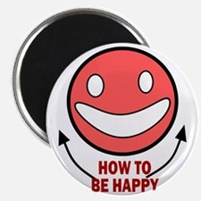 How to be Happy Magnet