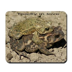 toadly in love Mousepad