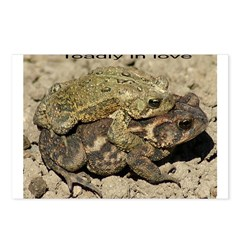 toadly in love Postcards (Package of 8)