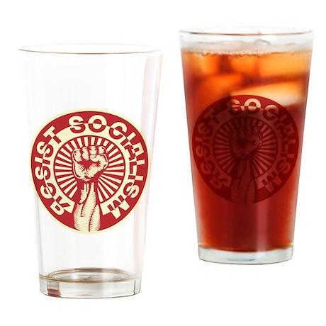 RESIST SOCIALISM Pint Glass