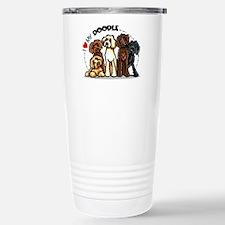 Love Labradoodles Stainless Steel Travel Mug