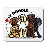Labradoodle Mouse Pads