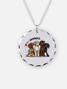 Love Labradoodles Necklace