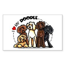 Love Labradoodles Decal