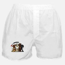 Love Labradoodles Boxer Shorts