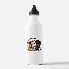 Love Labradoodles Water Bottle