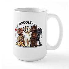Love Labradoodles Coffee Mug