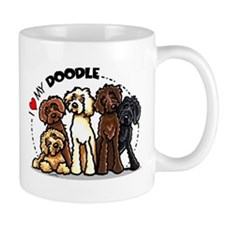 Love Labradoodles Small Mug