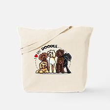 Love Labradoodles Tote Bag