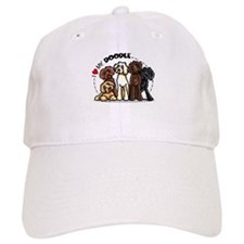 Love Labradoodles Baseball Cap