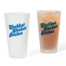 Shalom Bitches Pint Glass