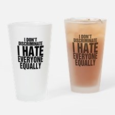 Hate Equally Pint Glass