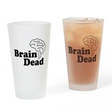 Brain Dead Pint Glass