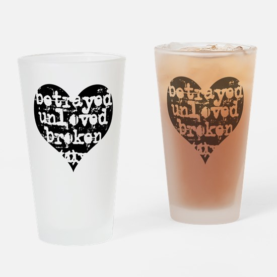 Betrayed Pint Glass