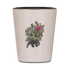Nevada cactus Shot Glass