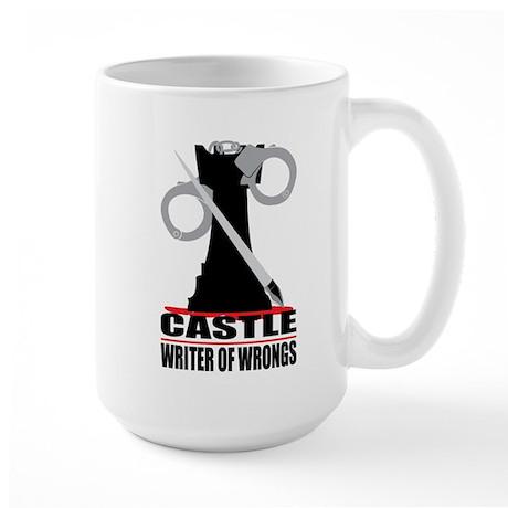 Castle: Writer of Wrongs Large Mug