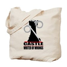 Castle: Writer of Wrongs Tote Bag