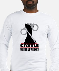 Castle: Writer of Wrongs Long Sleeve T-Shirt