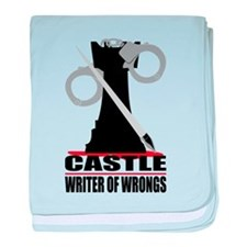 Castle: Writer of Wrongs baby blanket