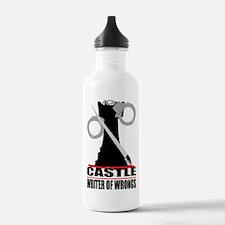 Castle: Writer of Wrongs Water Bottle