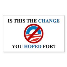 Hoped For Change, Decal
