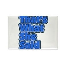 That's What She Said 3 Rectangle Magnet (100 pack)