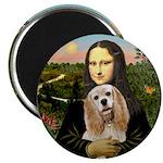 Mona Lisa - Cocker (rw1) Magnet