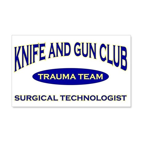 Knife & gun club (also light 22x14 Wall Peel