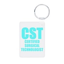 Bold CST blue Keychains