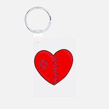 Heart Mender ST Aluminum Photo Keychain