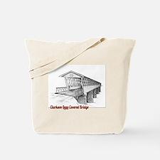 Clarkson Legg Covered Bridge Tote Bag