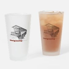 Clarkson Legg Covered Bridge Pint Glass