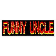 Funny Uncle Bumper Bumper Sticker