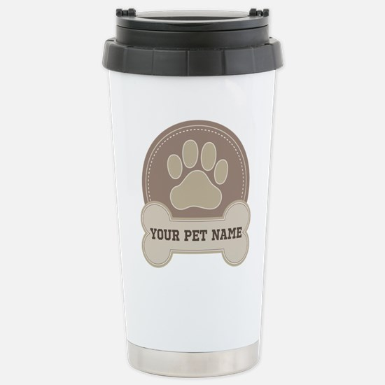 Cute Personalized dog Travel Mug