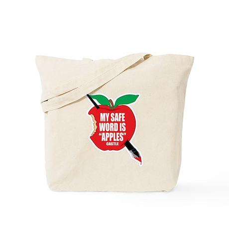 Castle: Apples Tote Bag