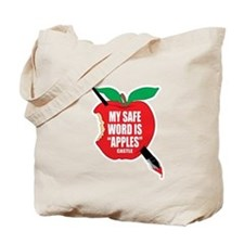 Castle: Apples Tote Bag