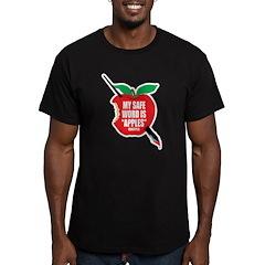Castle: Apples Men's Fitted T-Shirt (dark)